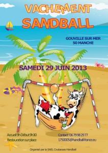 Edition 2013 Vachement sandball