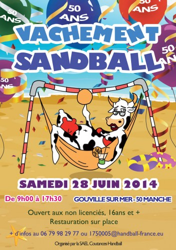 Edition 2014 Sandball Coutances